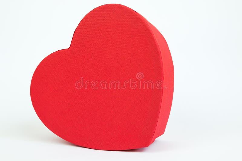 Caixa do coração foto de stock