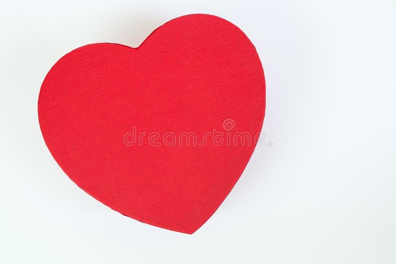 Caixa do coração foto de stock royalty free