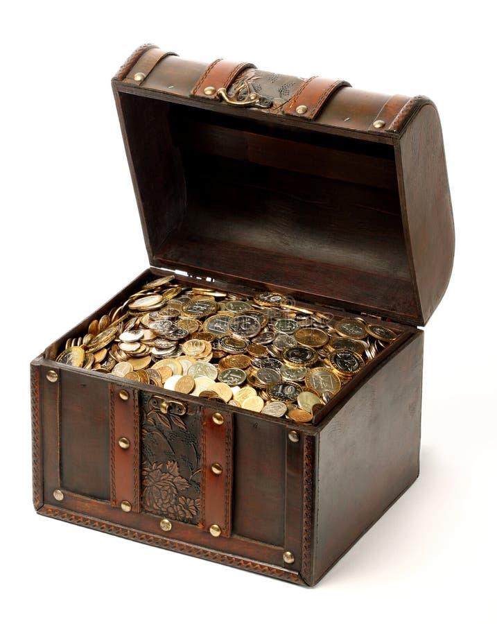 Caixa do dinheiro fotografia de stock royalty free