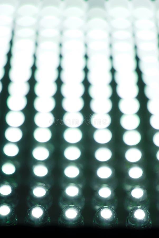 Caixa do diodo emissor de luz fotos de stock royalty free