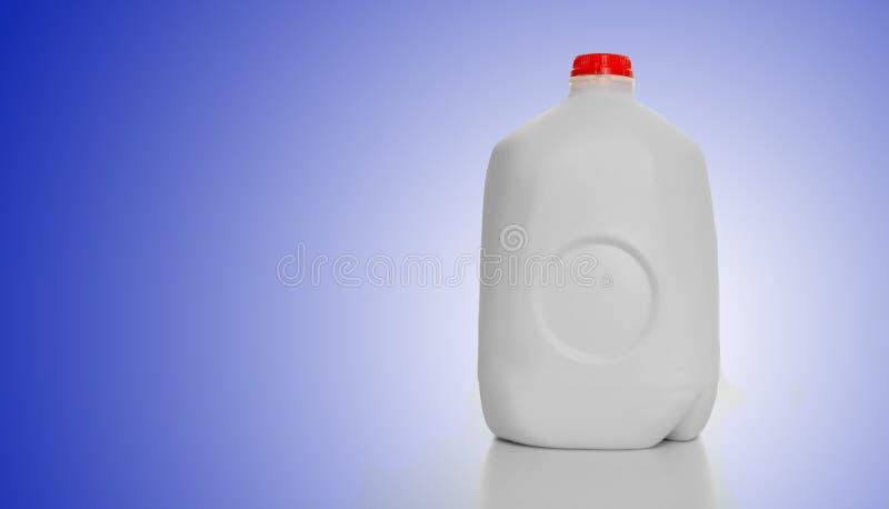 Caixa do leite do galão fotos de stock royalty free
