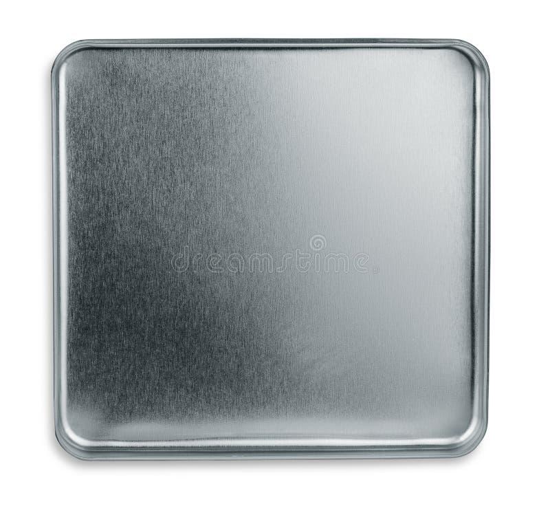 Caixa do metal imagem de stock royalty free