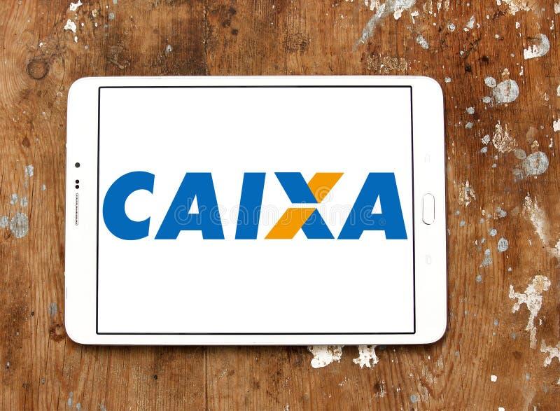 Caixa Economica联邦银行商标 库存照片