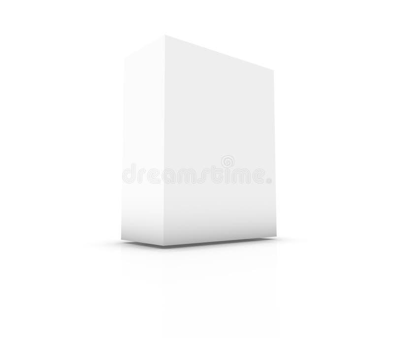 Caixa em branco ilustração stock