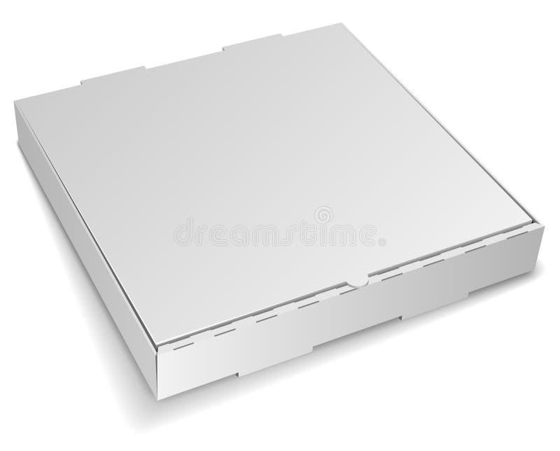 Caixa em branco da pizza