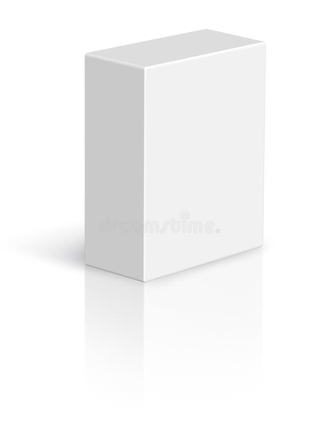 Caixa em branco de múltiplos propósitos ilustração royalty free