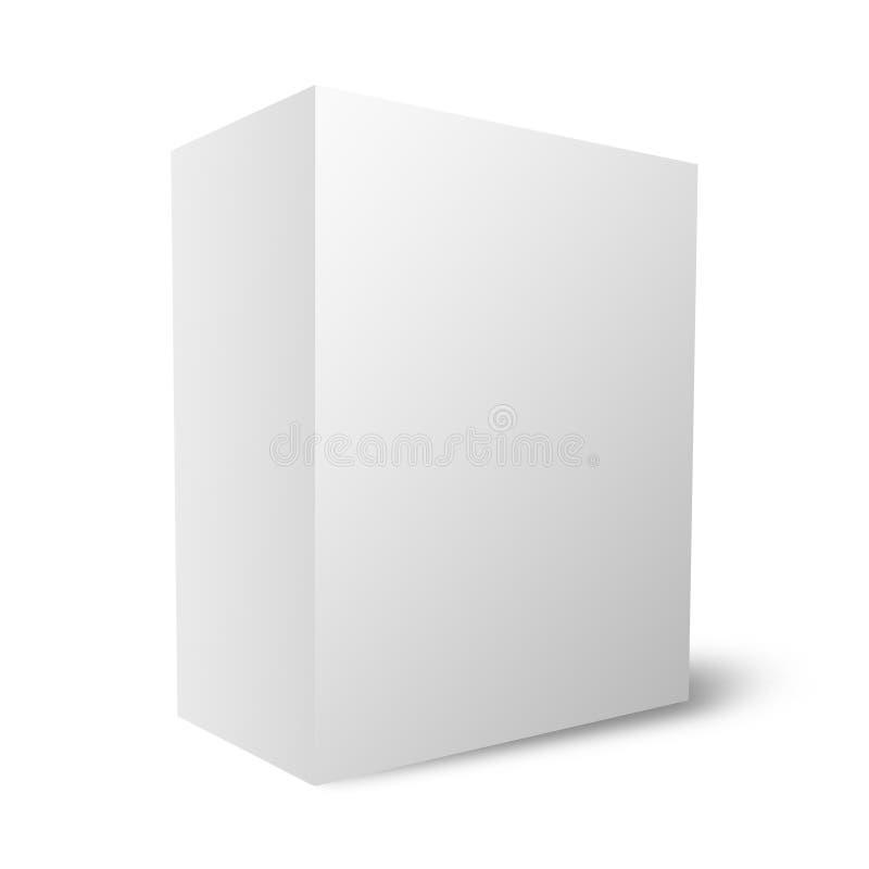 Caixa em branco lisa (12Mb) ilustração royalty free