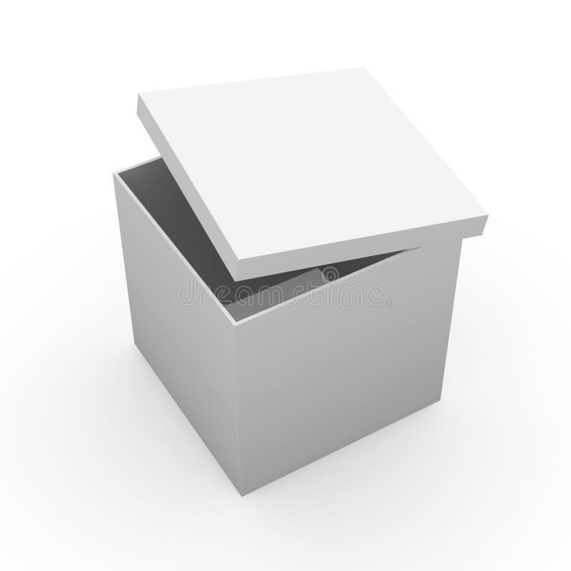 Caixa genérica ilustração do vetor