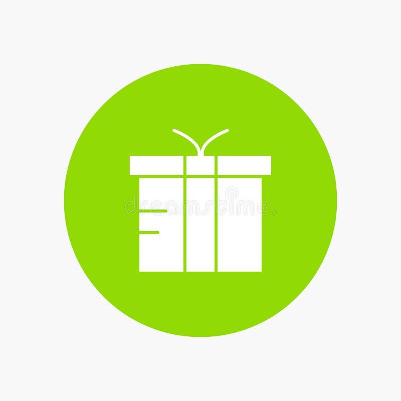 Caixa, logística, presente, global ilustração stock