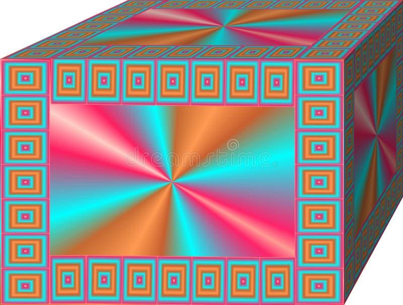 caixa mágica ilustração do vetor