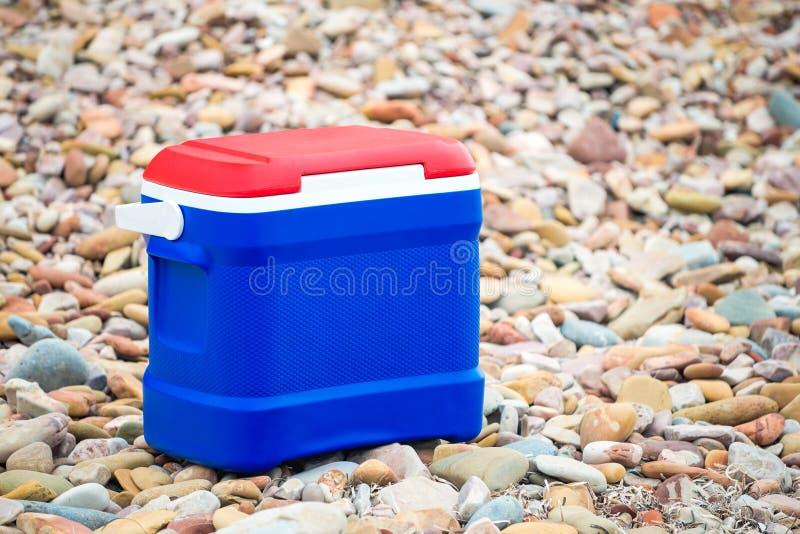 Caixa mais fresca em cores australianas da bandeira imagens de stock royalty free