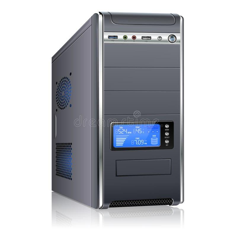 Caixa moderna do computador ilustração do vetor