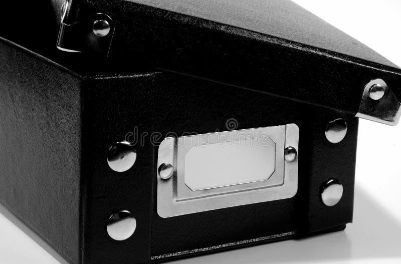 Caixa negra 2 fotografia de stock royalty free