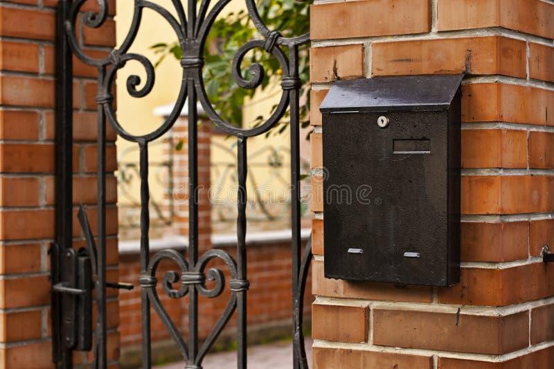 Caixa postal. imagens de stock royalty free
