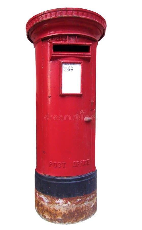 Caixa postal britânica foto de stock royalty free