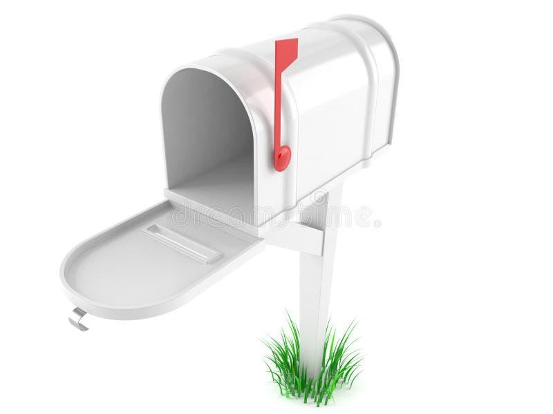 Caixa postal vazia ilustração royalty free