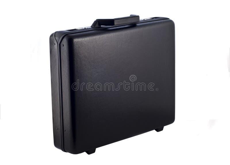 Caixa preta isolada imagem de stock