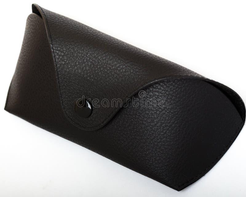 Caixa preta para vidros foto de stock