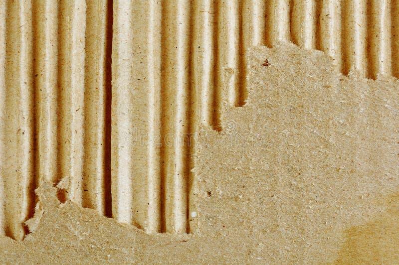 Caixa rasgada Textured imagem de stock