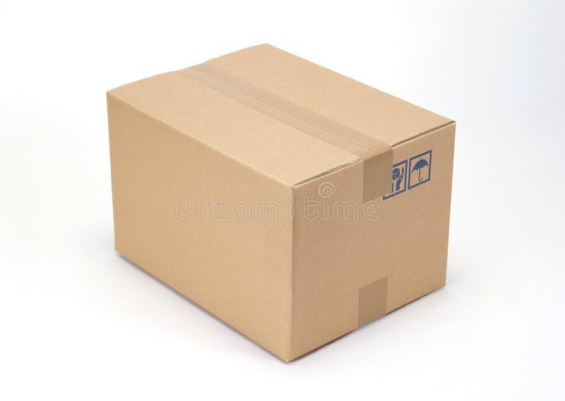 Caixas de cartão imagens de stock