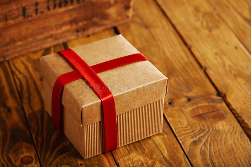 Caixas de presente para o presente do feriado fotos de stock royalty free
