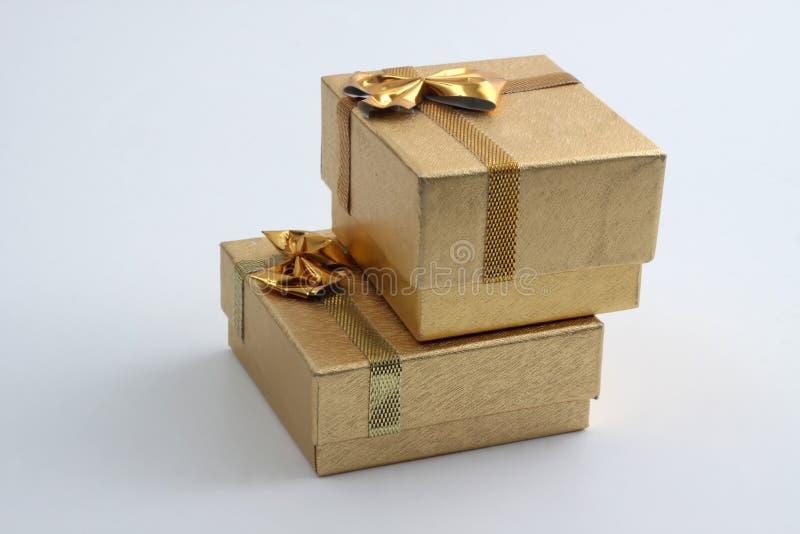 Caixas do anel fotografia de stock royalty free