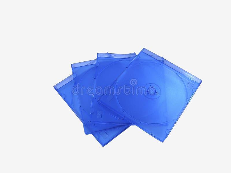 Caixas do disco compacto foto de stock