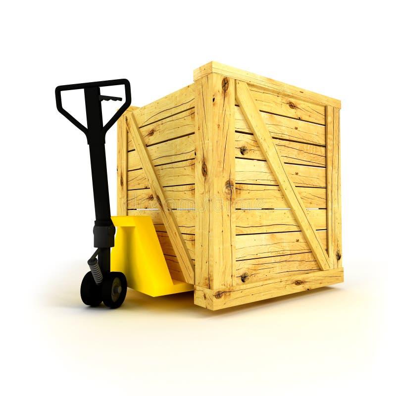 Cajón stock de ilustración