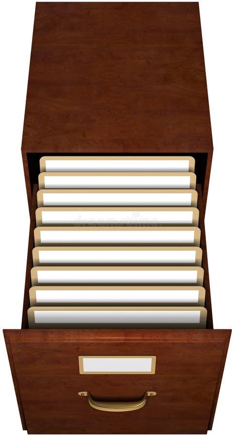 Cajón de fichero libre illustration