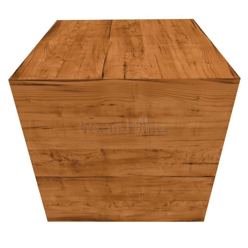 Cajón de madera libre illustration