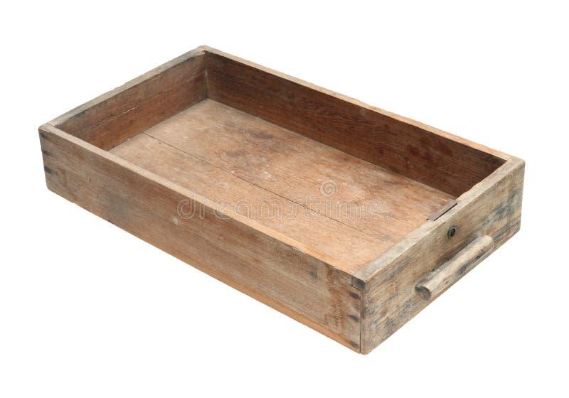 Cajón de madera de la cabina fotografía de archivo libre de regalías
