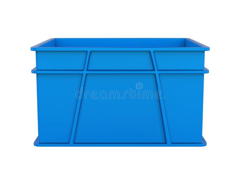Cajón plástico aislado libre illustration