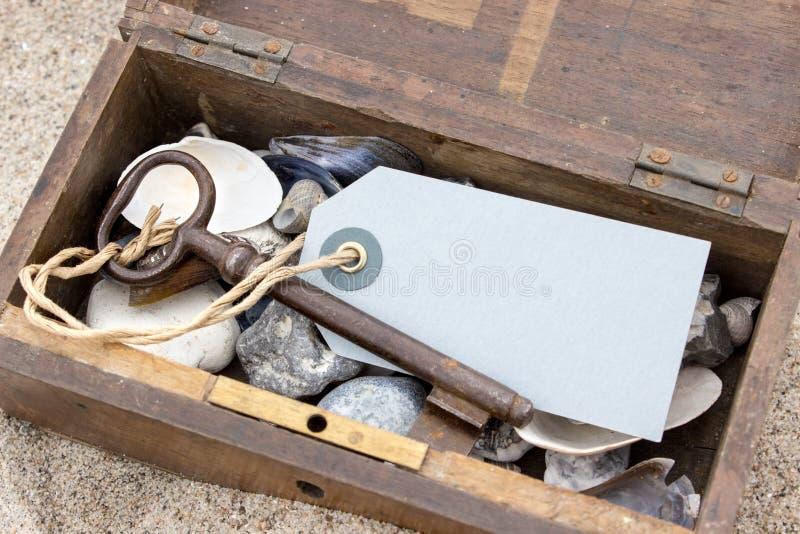 Cajón y llave foto de archivo libre de regalías