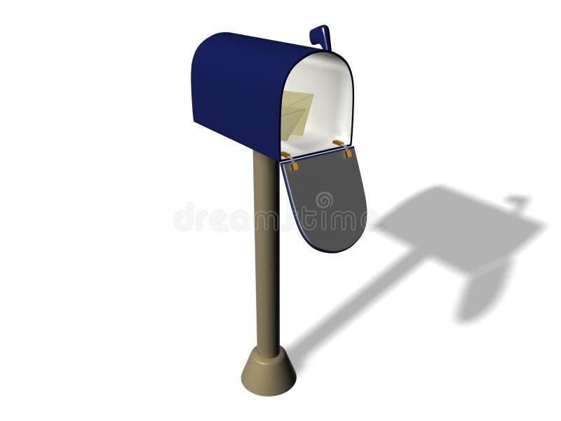 Caja stock de ilustración
