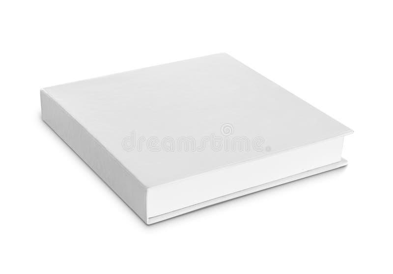 Caja blanca en blanco imagen de archivo libre de regalías