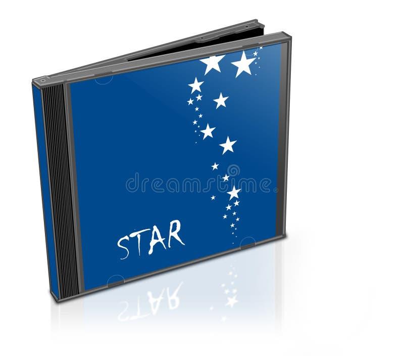 Caja Cd stock de ilustración