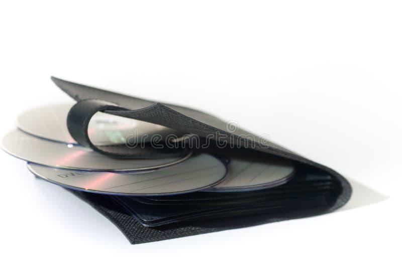 Caja CD, aislada en blanco fotos de archivo