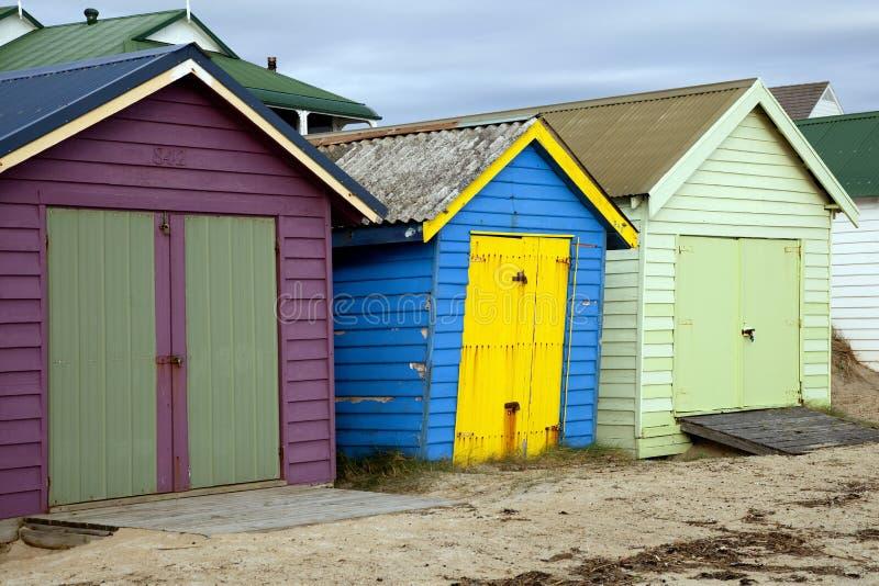 Caja Chelsea de la playa fotografía de archivo