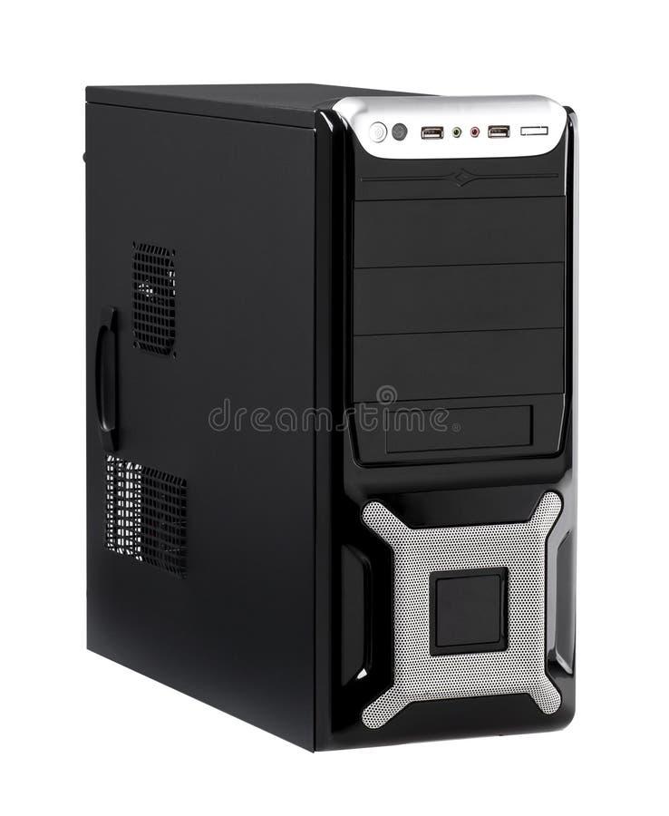 Caja de alta velocidad del ordenador del procesador de la CPU stock de ilustración