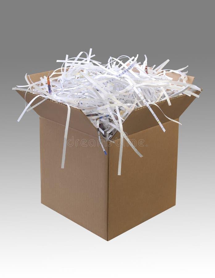 Caja de cartón fotos de archivo libres de regalías