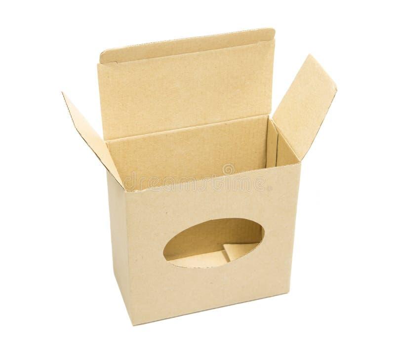 Caja de cart?n imágenes de archivo libres de regalías