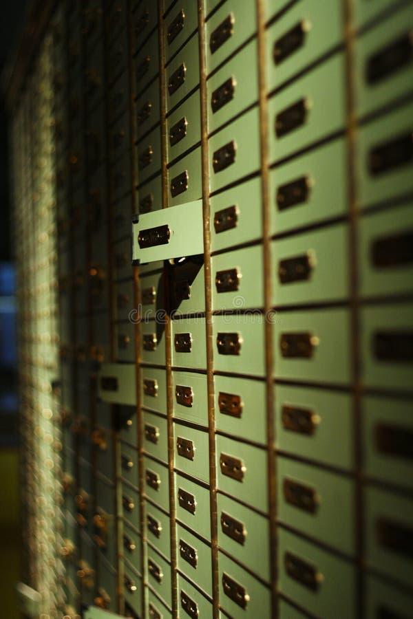 Caja de depósito foto de archivo libre de regalías
