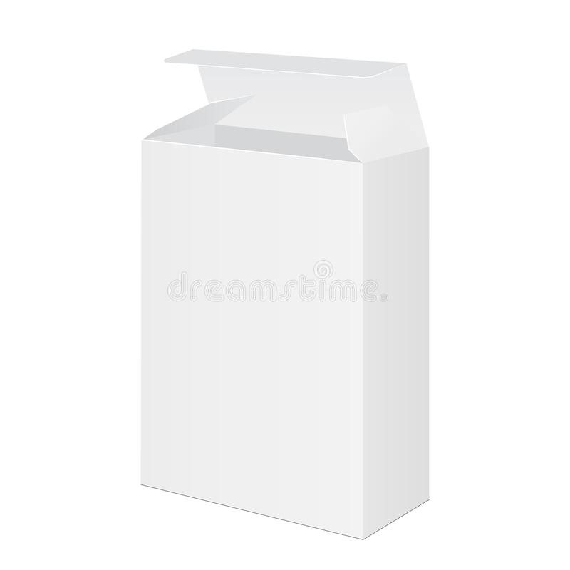 Caja de empaquetado del software ilustración del vector