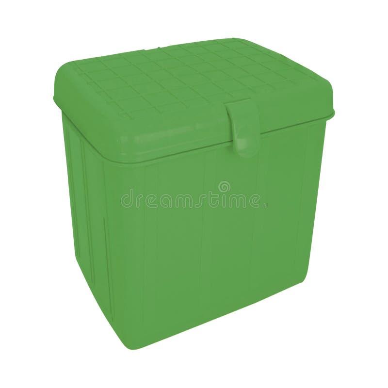 Caja de enfriamiento verde fotos de archivo