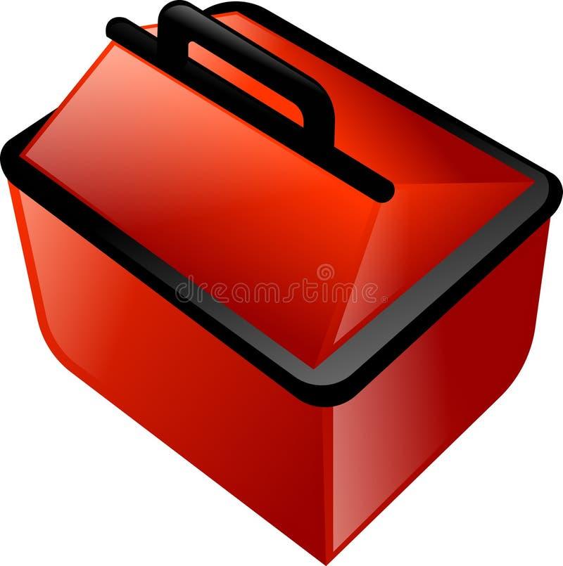 Caja de herramientas ilustración del vector