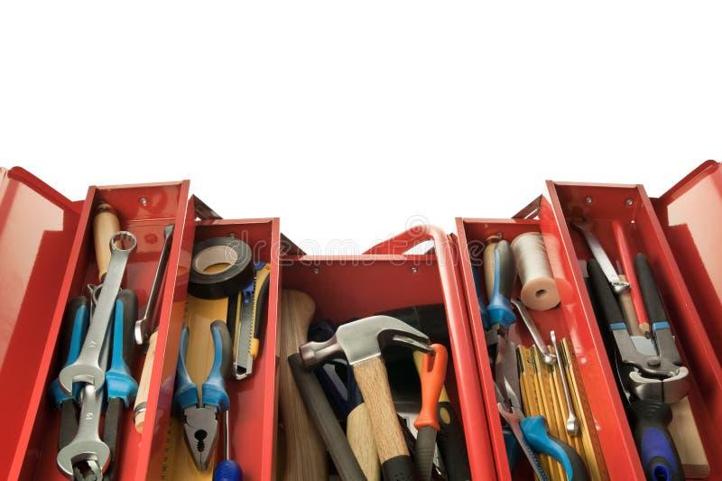 Caja de herramientas fotos de archivo