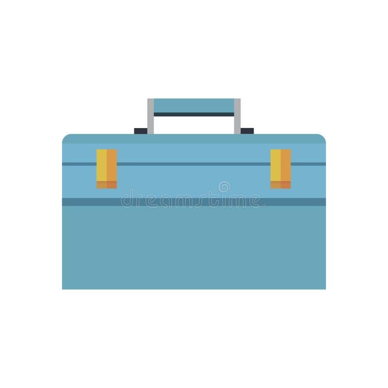 Caja de herramientas del icono cerrada libre illustration