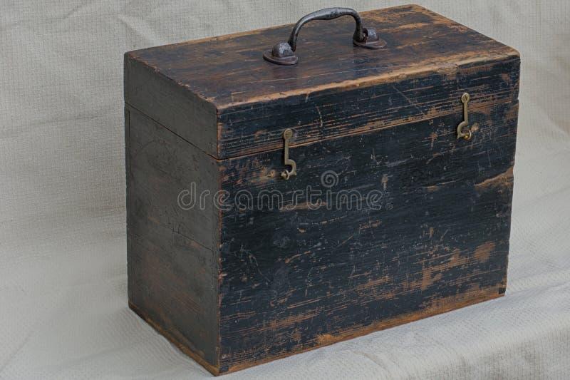 Caja de herramientas del vintage imagen de archivo