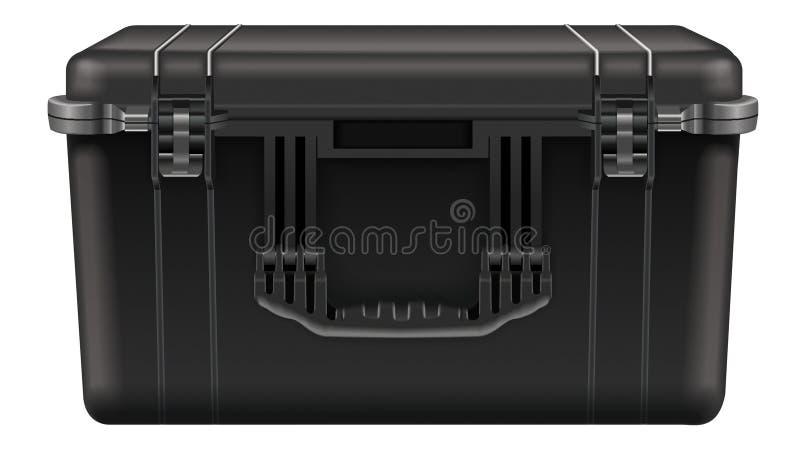 Caja de herramientas negra stock de ilustración