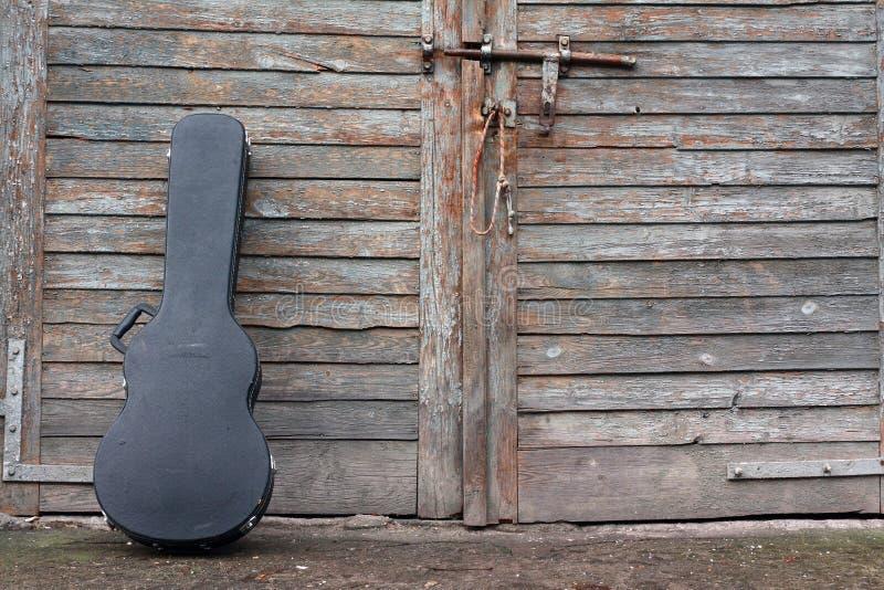 Caja de la guitarra fotos de archivo